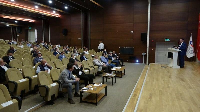 Sivas'ta gergin meclis toplantısı