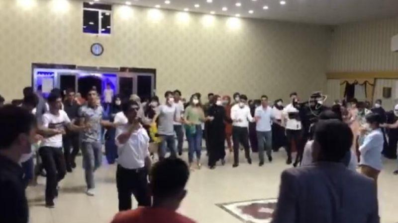 Diyarbakır'da onlarca kişi 'korona virüsle' düğünde bir araya geldi
