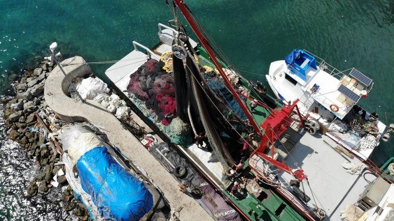 """Rumeli Kavağı'nda balıkçılar """"Vira Bismillah"""" demeye hazır"""