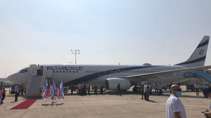 İsrail ile anlaşmanın ardından bir ilk! Uçaktaki dikkat çeken o isim