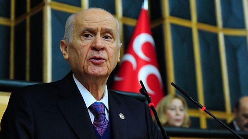 MHP Lideri Bahçeli'den sert açıklamalar