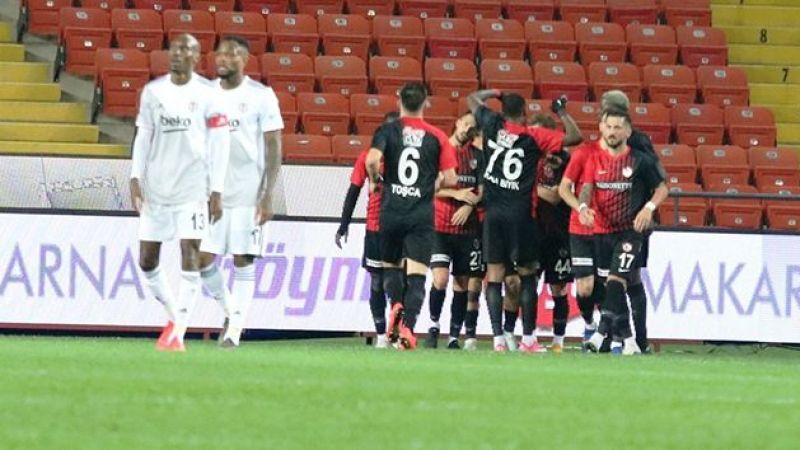 Beşiktaş, Gaziantep'de kayıp