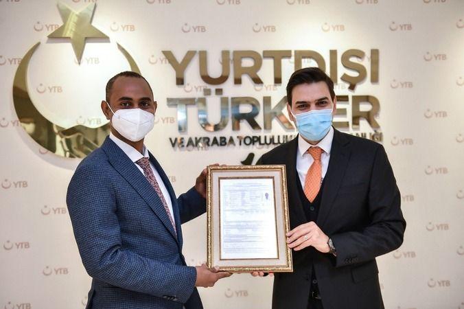 Somali Adalet Bakanı'ndan YTB'ye ziyaret