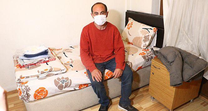 Kısıtlamada ceza kesilen evsiz vatandaş Ankara'ya geldi