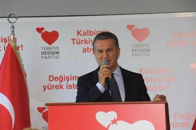 Türkiye Değişim Partisi'nde görev dağılımı