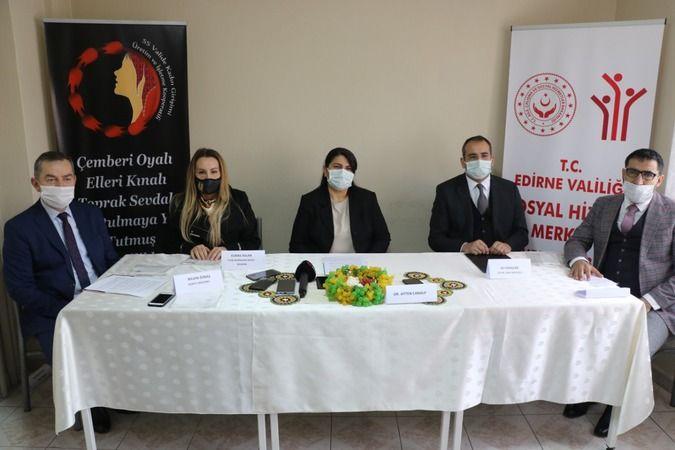 Korona virüsüyle mücadelede Edirneli kadınlardan tam destek