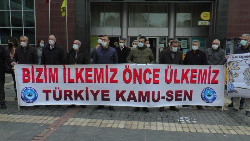 """Kamu-Sen Kayseri İl Temsilcisi Kamil Ünal: """"Memur ve emeklilere yapılacak olan destek ekonomiye de can suyu olacak"""""""