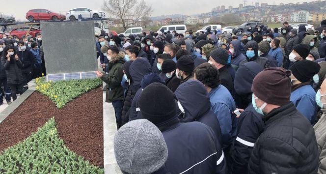 Hyundai Assan işçilerinden zam eylemi