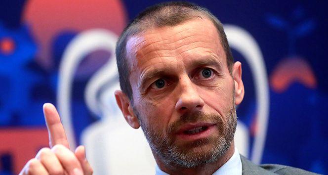 Aleksander Ceferin: 'Süper Lig'de oynayacak oyuncular milli takımlarda oynayamayacak'