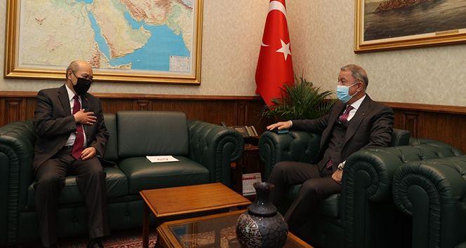 Bakan Akar, Moğolistan Büyükelçisi Bold Ravdan'ı kabul etti