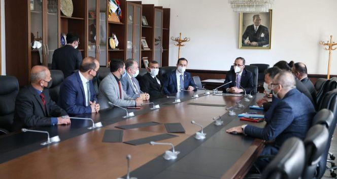 Ampute Futbol Kulüp Birliği'nden Spor Bakanı Kasapoğlu'na ziyaret