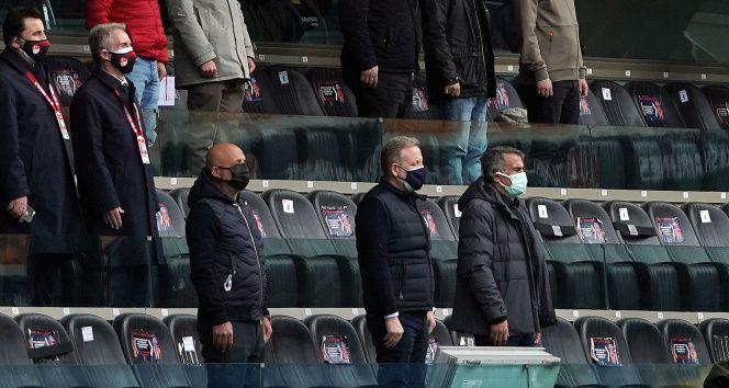 Şenol Güneş, Başakşehir-Alanyaspor maçında