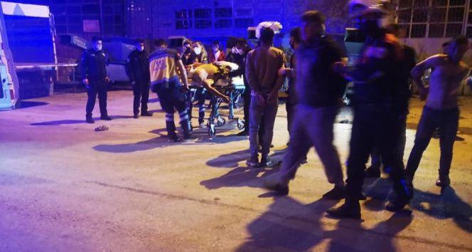 Karaman'da iki grup arasında satırlı ve bıçaklı kavga: 2 yaralı, 10 gözaltı