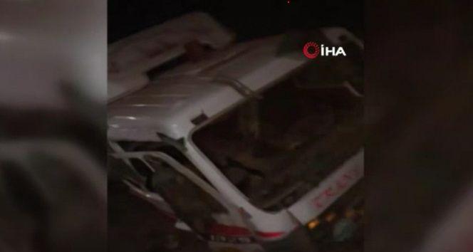 Mısır'da tren kazası: 1 ölü