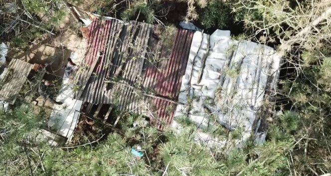 Sultangazi Belediyesi, Alibey barajı havzasındaki kaçak kulübeleri yıkıyor