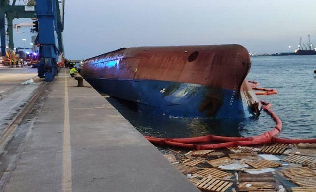 İspanya'da gemi alabora oldu! 5 Türk denizci kayıp!