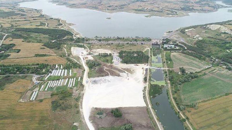 Kanal İstanbul'da ilk temelin atılacağı yer görüntülendi