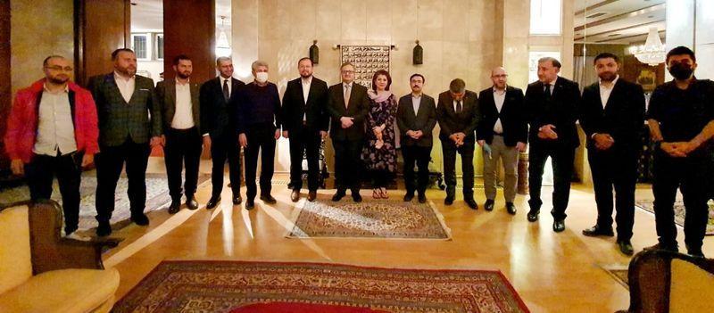 Büyükelçi Sajjad Qazi'den Millî Görüşçülere nazik davet