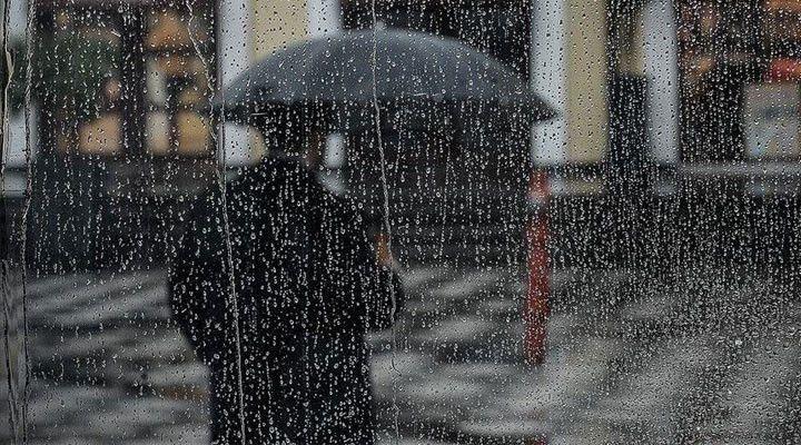 Meteoroloji'den o bölgelere uyarı: Dikkat sağanak yağış var