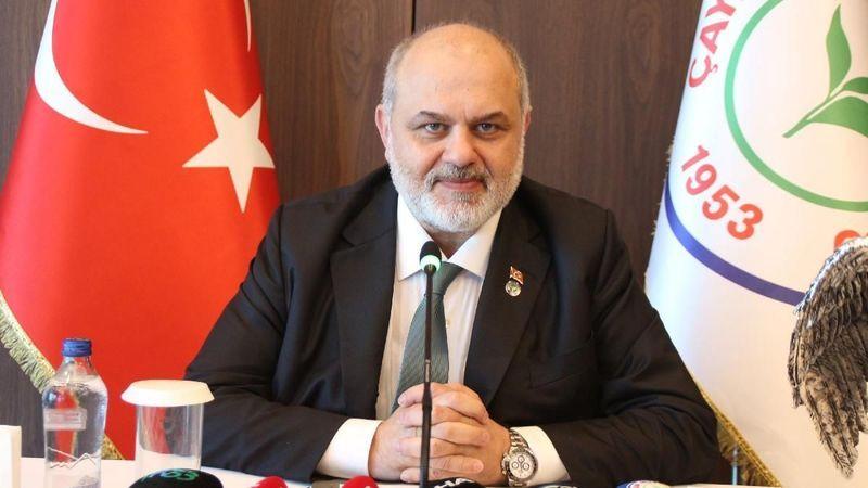 Çaykur Rizespor'un yeni başkanı belli oldu