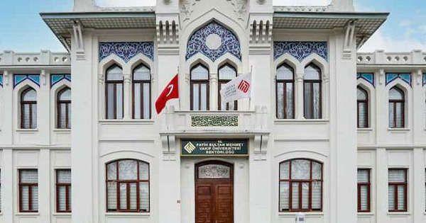 Fatih Sultan Mehmet Vakıf Üniversitesi 7 Öğretim Görevlisi alıyor