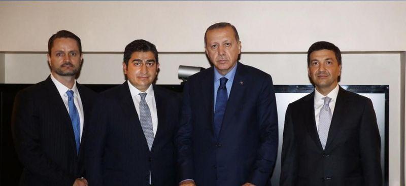 'Erdoğan'ın solunda duran, SBK'nin para kasası Çağlar Şendil kimdir?'