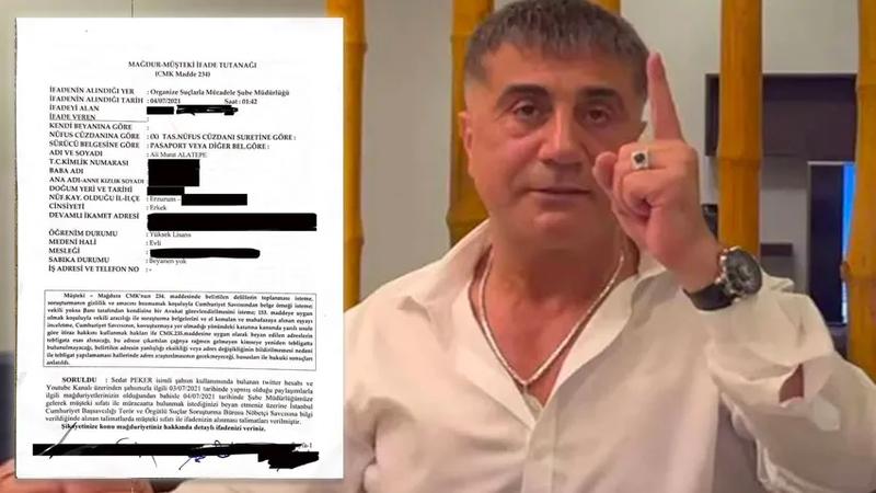 Sedat Peker'e o belge nasıl sızdırıldı?