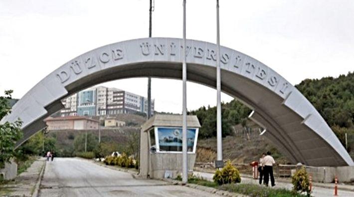 Düzce Üniversitesi 29 Öğretim Üyesi alıyor