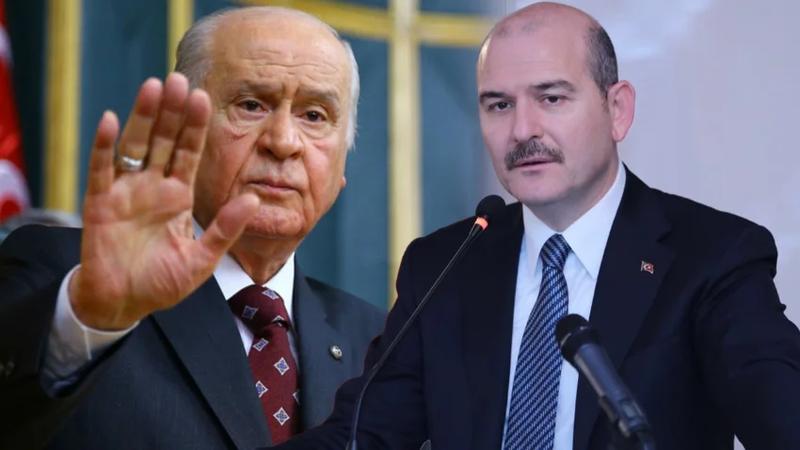 Bahçeli'ye Süleyman Soylu şoku! MHP'liler tepki gösterdi