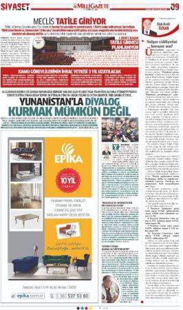 Yunanistan haberimizi haklı çıkardı