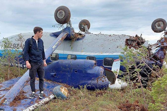 Rusya'da radardan kaybolan uçağın görüntüleri ortaya çıktı