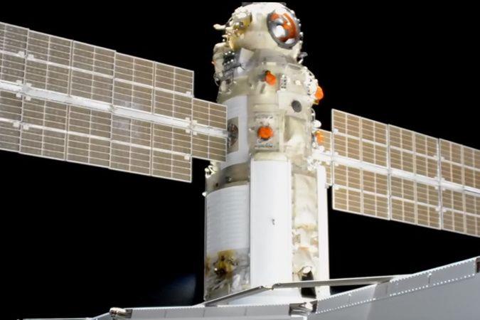 Rusya'nın Nauka modülü uluslararası uzay istasyonuna kenetlendi