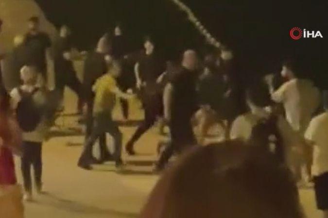 Büyükçekmece'de mekanda çıkan kavgada çalışanlar müşterileri denize attı