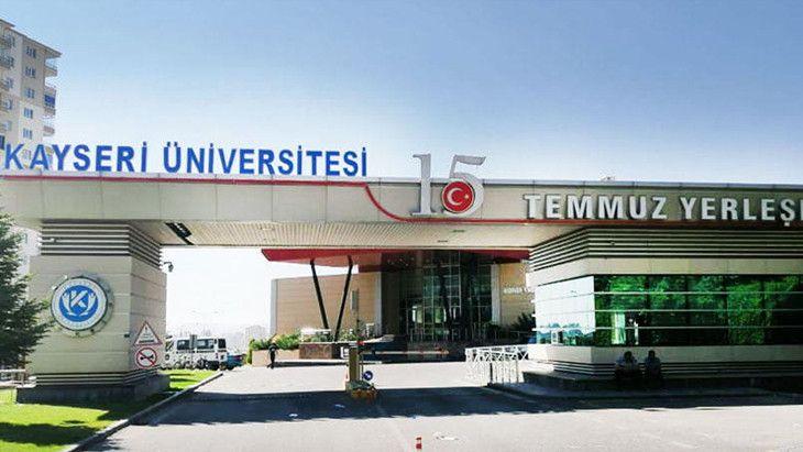 Kayseri Üniversitesi Öğretim Üyesi alıyor