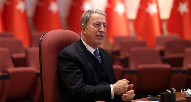 Milli Savunma Bakanı Akar: 'Biz 1974'te neredeysek aynı yerdeyiz'