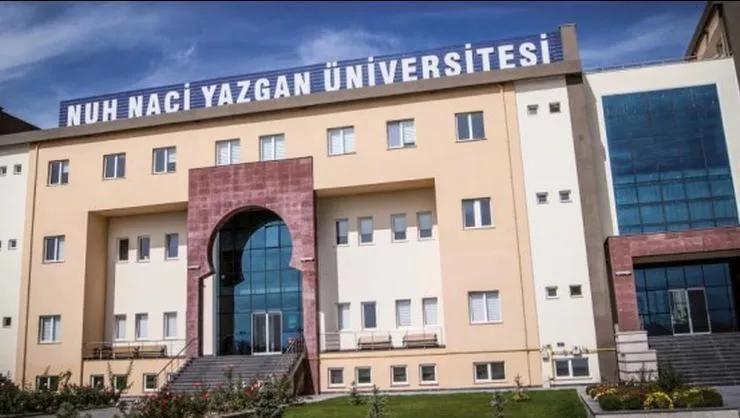 Nuh Naci Yazgan Üniversitesi 1 Öğretim Üyesi alıyor