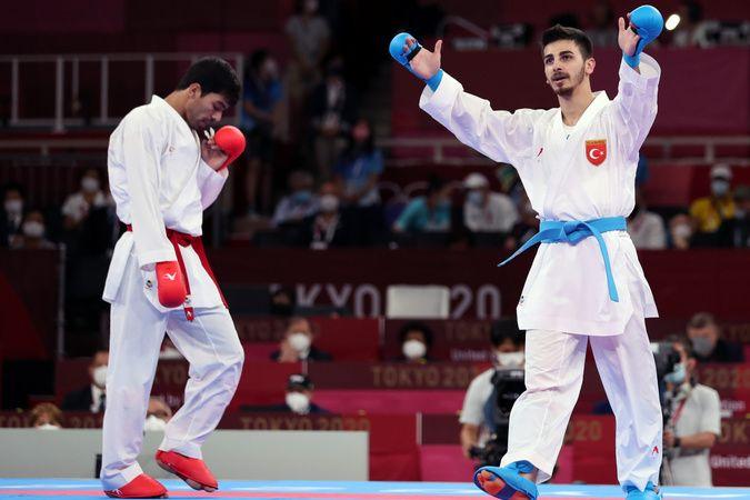 Milli sporcumuz Eray Şamdan gümüş madalya kazandı