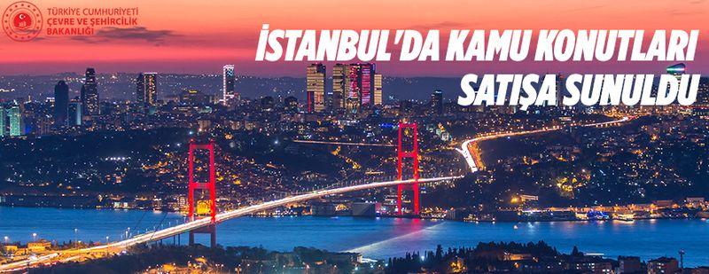 İstanbul'da kamu konutları ihaleyle satılacak