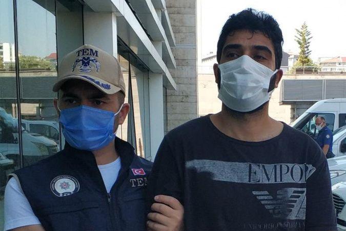 Samsun'da DEAŞ'tan gözaltına alınan yabancı uyruklu şahıs tutuklandı
