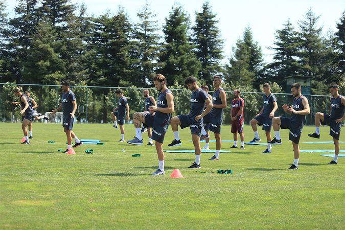 Trabzonspor, Molde maçı hazırlıklarını başladı