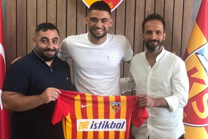 Kayserispor Bilal Bayazit'ı açıkladı