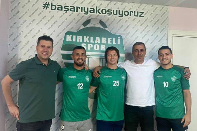 Kırklarelispor'da 4 transfer