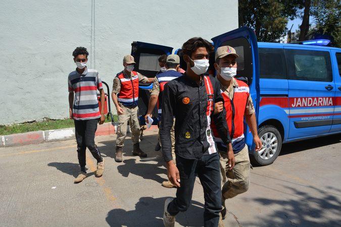 Siverek'te 22 düzensiz göçmen yakalandı