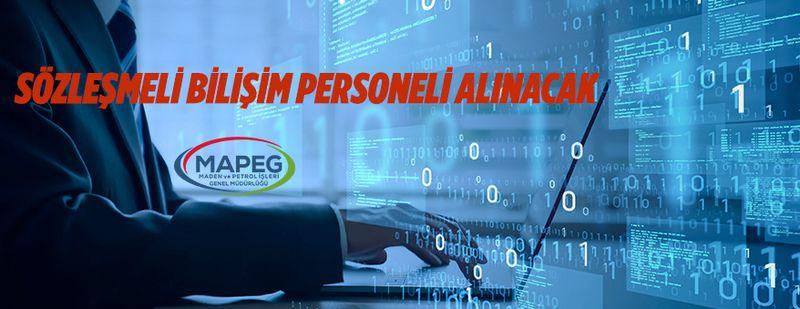 Sözleşmeli bilişim personeli alım ilanı