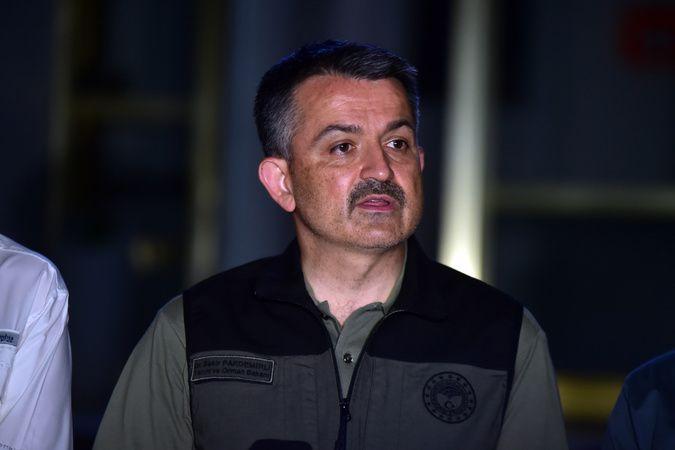 Bakan Pakdemirli açıkladı, Aydın Nazilli-Bozdoğan yangını kontrol altında!
