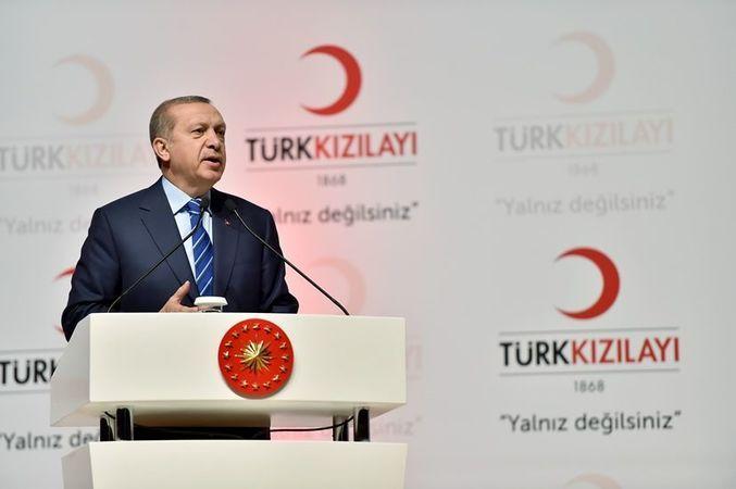 IBAN tartışmasında son nokta! Erdoğan THK gibi Kızılay'ı da afaroz etti