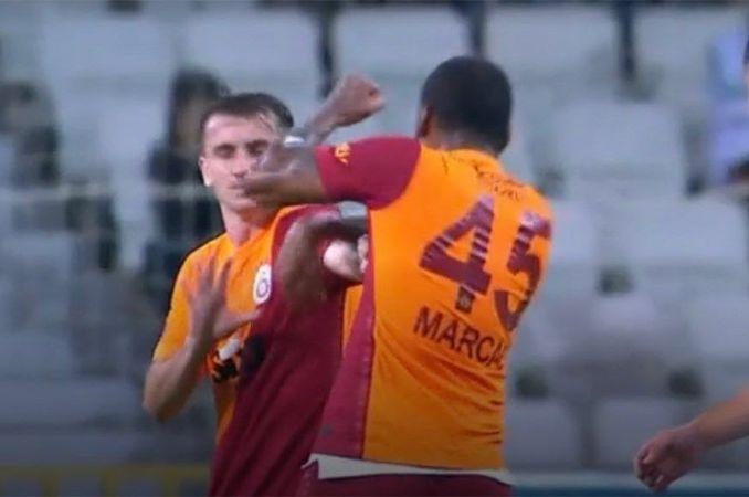 Galatasaraylı Marcao'ya spor kamuoyundan sert sözler