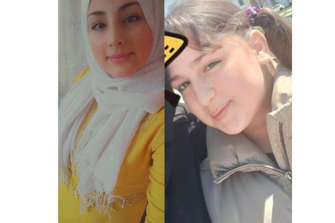 11 ve 17 yaşındaki iki kız kardeş sırra kadem bastı