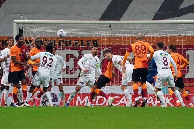 Galatasaray ile Hatayspor 3. randevuda