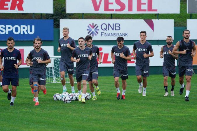 Trabzonspor, Roma maçının hazırlıklarına başladı
